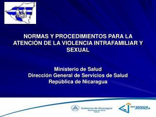NORMAS Y PROCEDIMIENTOS PARA LA ATENCI N DE LA VIOLENCIA INTRAFAMILIAR Y SEXUAL
