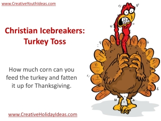 Christian Icebreakers: Turkey Toss
