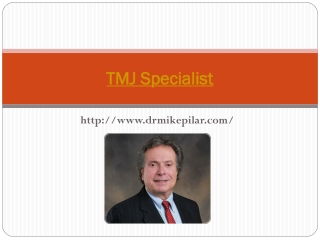 TMJ Specialist