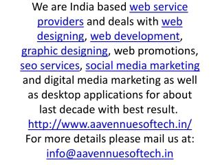 Web Designing India