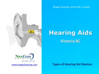 Hearing Aid Instruments Victoria BC