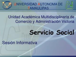 Unidad Acad mica Multidisciplinaria de  Comercio y Administraci n Victoria