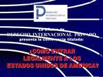 La Oficina de  DERECHO  INTERNACIONAL  PRIVADO  presenta la conferencia titulada: