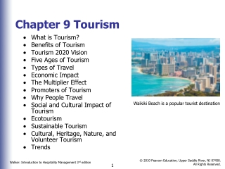 Chapter 3 Political Aspects of the International Travel, Tourism, and Lodging Industry