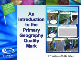 An introduction to the Primary Geography Quality Mark