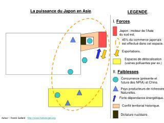 La puissance du Japon en Asie.