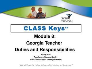 CLASS KeysSM