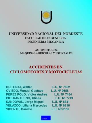 UNIVERSIDAD NACIONAL DEL NORDESTE