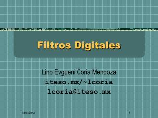 Filtros Digitales