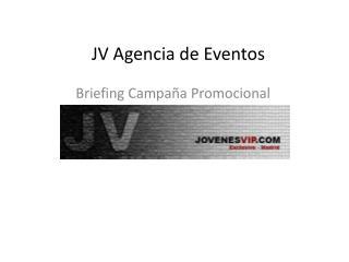 JV Agencia de Eventos