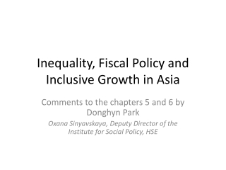 International Trends on  Social Protection - Social Security and Employment