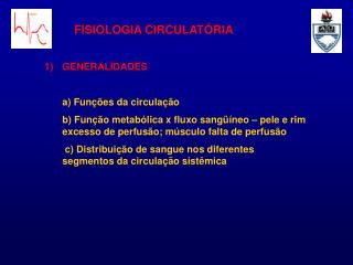 FISIOLOGIA CIRCULAT RIA