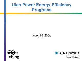 Utah Power Energy Efficiency Programs