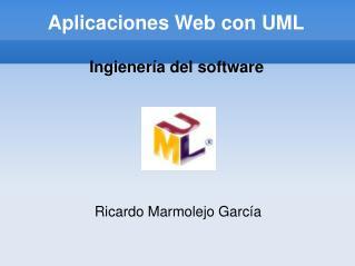 Aplicaciones Web con UML