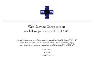 Web Service Composition workflow patterns in BPEL4WS