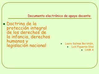 Documento electr nico de apoyo docente
