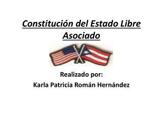 Constituci n del Estado Libre Asociado