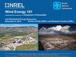 Wind Energy 101