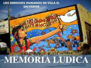 LOS DERECHOS HUMANOS EN VILLA EL SALVADOR