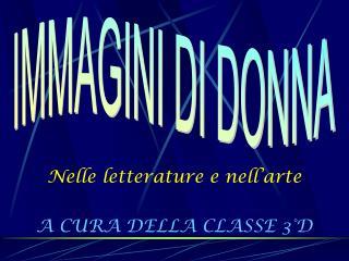 A CURA DELLA CLASSE 3 D
