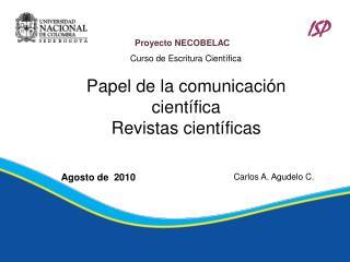 Proyecto NECOBELAC