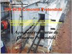A os para estruturas de Concreto Protendido