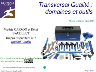 Transversal Qualit  : domaines et outils