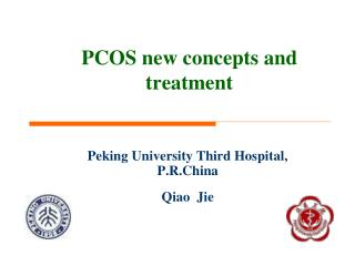 PCOS new concepts and treatment