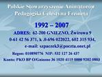 Polskie Stowarzyszenie Animator w Pedagogiki Celestyna Freineta