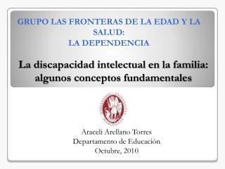 La discapacidad intelectual en la familia: algunos conceptos fundamentales