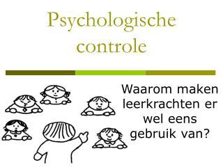 Psychologische controle