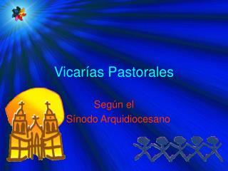 Vicar as Pastorales