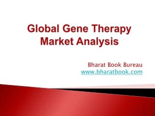 Global Gene Therapy Market Analysis