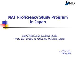 NAT Proficiency Study Program  in Japan
