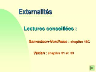 Externalit s