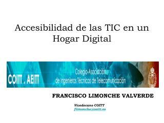 Accesibilidad de las TIC en un Hogar Digital