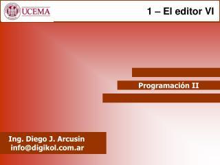 Programaci n II
