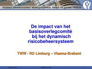 TWW - RD Limburg   Vlaams-Brabant