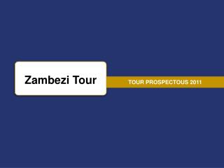 TOUR PROSPECTOUS 2011