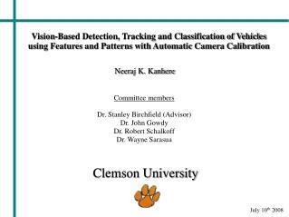 Slide 1 - Clemson University