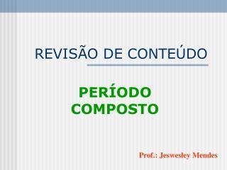 REVIS O DE CONTE DO