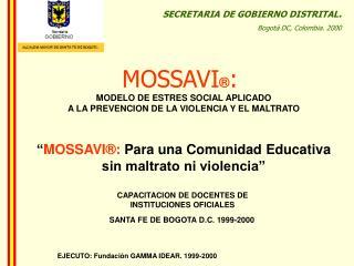 EJECUTO: Fundaci n GAMMA IDEAR. 1999-2000