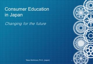 Consumer Education in Japan