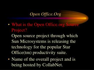 Open Office.Org