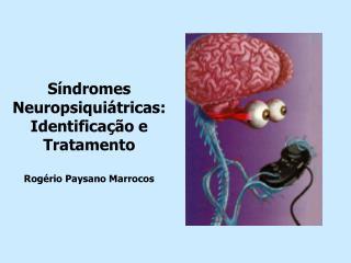 S ndromes Neuropsiqui tricas:  Identifica  o e Tratamento  Rog rio Paysano Marrocos