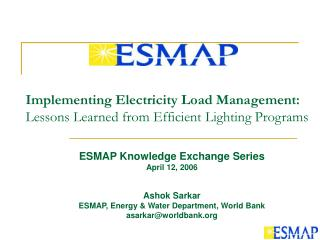 Implementing Electricity Load Management:  Lessons Learned from Efficient Lighting Programs