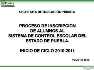 SECRETAR A DE EDUCACI N P BLICA