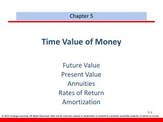 Future Value, FV      1.       2.       3.   Present Value, PV