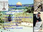 Yahudiligin temel  zellikleri