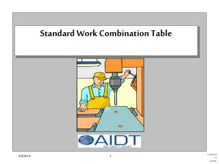 Standard Work Combination Table